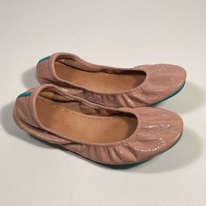 Tieks Blush Pink Patent Leather Flats Women 11